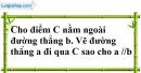 Bài 25 trang 107 SBT toán 7 tập 1