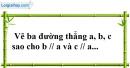 Bài 34 trang 110 SBT toán 7 tập 1