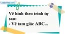 Bài 47 trang 114 SBT toán 7 tập 1