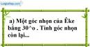 Bài 7 trang 137 SBT toán 7 tập 1