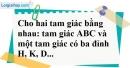 Bài 21 trang 140 SBT toán 7 tập 1