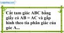 Bài 26 trang 140 SBT toán 7 tập 1