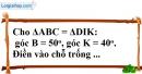 Bài 2.1, 2.2 phần bài tập bổ sung trang 140 SBT toán 7 tập 1