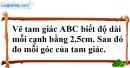 Bài 27 trang 140 SBT toán 7 tập 1