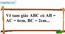 Bài 31 trang 141 SBT toán 7 tập 1