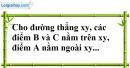 Bài 35 trang 141 SBT toán 7 tập 1