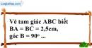 Bài 36 trang 142 SBT toán 7 tập 1