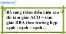 Bài 4.1, 4.2, 4.3, 4.4 phần bài tập bổ sung trang 143, 144 SBT toán 7 tập 1