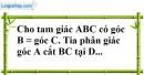 Bài 55 trang 145 SBT toán 7 tập 1