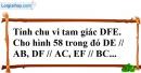 Bài 57 trang 145 SBT toán 7 tập 1