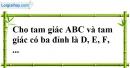 Bài 5.1, 5.2, 5.3, 5.4 phần bài tập bổ sung trang 146, 147 SBT toán 7 tập 1