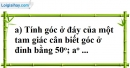 Bài 67 trang 147 SBT toán 7 tập 1
