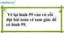 Bài 71 trang 147 SBT toán 7 tập 1