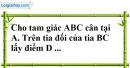 Bài 72 trang 147 SBT toán 7 tập 1