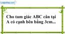 Bài 76 trang 147 SBT toán 7 tập 1