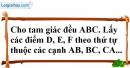 Bài 77 trang 148 SBT toán 7 tập 1