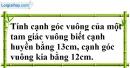 Bài 82 trang 149 SBT toán 7 tập 1