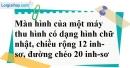 Bài 85 trang 149 SBT toán 7 tập 1