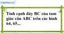 Bài 89 trang 150 SBT toán 7 tập 1