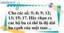 Bài 91 trang 150 SBT toán 7 tập 1