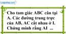 Bài 96 trang 151 SBT toán 7 tập 1