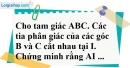 Bài 100 trang 151 SBT toán 7 tập 1