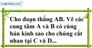 Bài 103 trang 152 SBT toán 7 tập 1