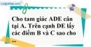 Bài 104 trang 152 SBT toán 7 tập 1