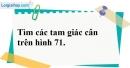 Bài 107 trang 153 SBT toán 7 tập 1
