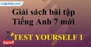 Test Yourself 1 - SBT tiếng Anh 7 mới