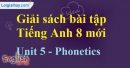 Phonetics –  Unit 5 SBT Tiếng Anh 8 mới