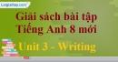 Writing – trang 22 Unit 3 SBT Tiếng Anh 8 mới