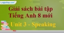 Speaking – Unit 3 SBT Tiếng Anh 8 mới