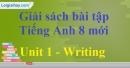 Writing - Unit 1 - SBT Tiếng Anh 10 mới