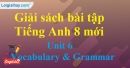 Vocabulary & Grammar – trang 45 Unit 6 SBT Tiếng Anh 8 mới