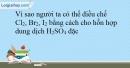 Bài 26.6 trang 61 SBT Hóa học 10