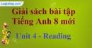 Reading – Unit 4 SBT Tiếng Anh 8 mới