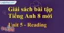 Reading – trang 41 Unit 5 SBT Tiếng Anh 8 mới