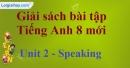 Speaking - trang 12 - Unit 2 SBT Tiếng Anh 8 mới