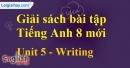 Writing – trang 43 Unit 5 SBT Tiếng Anh 8 mới