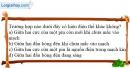 Bài 26.1 trang 63 SBT Vật lí 7