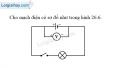 Bài 26.15 trang 67 SBT Vật lí 7