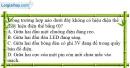 Bài 26.7 trang 64 SBT Vật lí 7