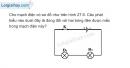 Bài 27.6 trang 69 SBT Vật lí 7