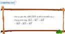 Bài 1.52 trang 43 SBT hình học 10