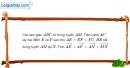 Bài 1.54 trang 43 SBT hình học 10