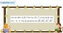 Bài 1.59 trang 44 SBT hình học 10