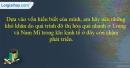 Câu 3 trang 97 SBT địa 7