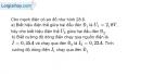 Bài 28.18 trang 76 SBT Vật lí 7