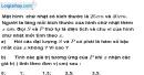 Bài 9 trang 62 SBT toán 9 tập 1